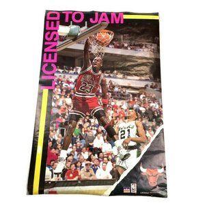 Licensed to Jam 1990 Michael Jordan # 23 Poster